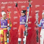 Ferrari triumphs at the Ski World Cup in Cortina