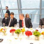 Brindisi Ferrari con il Brut Orgoglio Italia all'inaugurazione del Padiglione Italia di Expo 2015