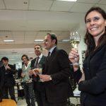 Consegnate a Gian Marco Chiocci, direttore del Tempo, le 1.000 bottiglie di Ferrari Trentodoc per il Titolo dell'Anno 2014