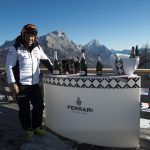 Maserati celebrates with Ferrari Trentodoc on its Winter Tour