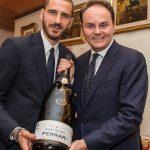 I calciatori dell'anno festeggiano con Ferrari Trentodoc