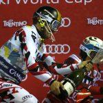 I Campioni del Circo Bianco brindano con Ferrari alla 3Tre di Madonna di Campiglio