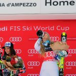 Lindsey Vonn triumphs again at Cortina