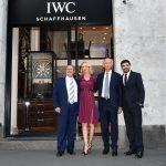 Bollicine Ferrari per inaugurare la boutique  milanese di IWC Schaffhausen