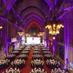 Matteo Lunelli durante l'Annual Award Banquet ricorda il suo anno da Presidente dell'IWSC