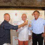 Brindisi Ferrari al rinnovo dell'accordo tra AUDI e A.C. MILAN