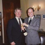 Kerry Kennedy in visita alle Cantine Ferrari