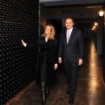 Kerry Kennedy visits the Ferrari Wineries
