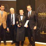 Premio Ferrari: Luca Gardini, del Ristorante Cracco, è l'Ambasciatore del Metodo Classico Italiano