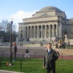 Marcello Lunelli lectures at Columbia University in New York