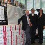 """Consegnate a Giuseppe Di Piazza, direttore di """"Sette"""" le 1.000 bottiglie di Ferrari per la ?Copertina dell?Anno?"""