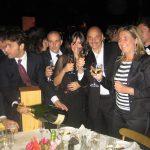 Al grande gala benefico di Paolo Brosio si brinda con Ferrari e si cena con Aliotto