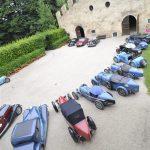 15 Bugattis between Cantine Ferrari, Villa Margon and Locanda Margon