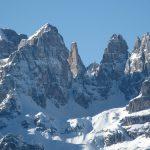 Sulle nevi di Madonna di Campiglio brindisi Ferrari per i 150 anni dell?Unità d?Italia