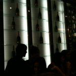 In passerella per il Salone del Mobile il Ferrari Perlé nel Caffè Trussardi di piazza della Scala e nello show room Zegna