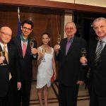 I trent?anni della Jet festeggiati in Giappone con brindisi Ferrari e la commenda a Thierry Cohen