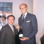 20 years of the Ermenegildo Zegna group in China celebrated with Ferrari bubbles in Beijing