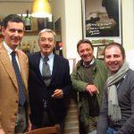 Quando i miti s?incontrano: a Matelica degustazione bollicine Ferrari e sigaro Flor De Selva