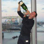 Brindisi Ferrari alle Olimpiadi di Londra con Sky Italia e a Casa Russia