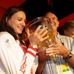 Ferrari toasts at the Olympics Games in London with Sky Italy and at the Russian House