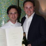 """Traveling with Ferrari"": the menu created by Nino di Costanzo"