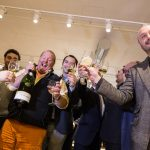 Ferrari toasts also at Eataly's inauguration in Chicago a few days ago