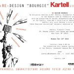 Kartell celebrates its magic Bourgie with Ferrari in New York