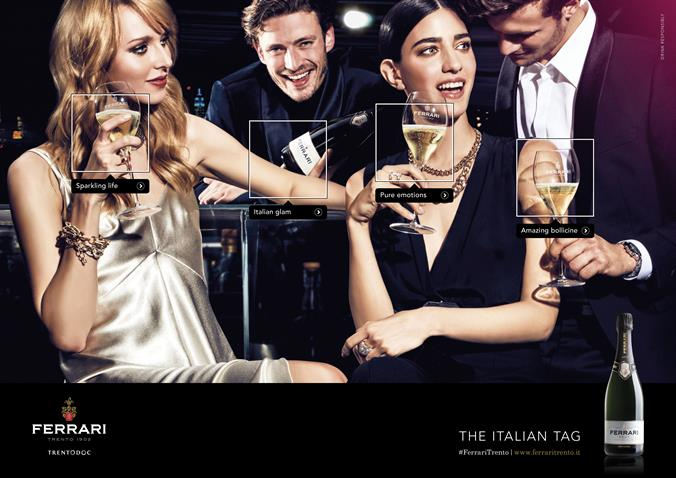 """""""The Italian Tag"""", lanciata la nuova campagna Ferrari firmata Armando Testa"""