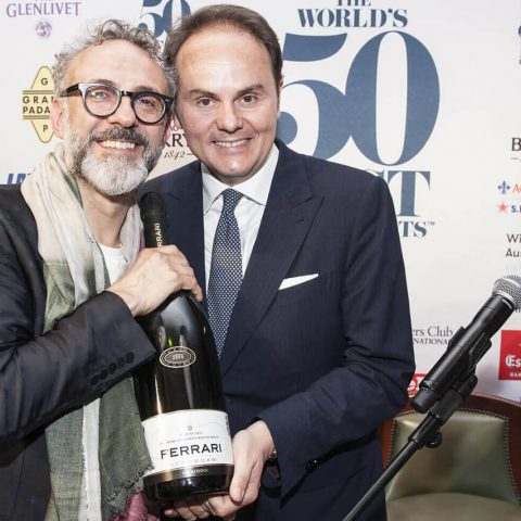 Massimo Bottura e Matteo Lunelli