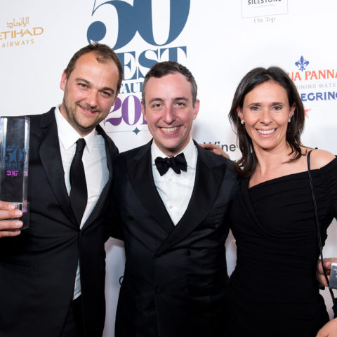 Daniel Humm, Will Guidara and Camilla Lunelli