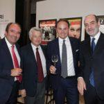 Alberto Faustini, Ferruccio De Bortoli, Matteo Lunelli e Giovanni Grasso