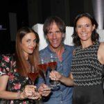 Evelina e Davide Oldani con Camilla Lunelli