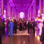 Ferrari's bubbles at the masked ball of the Venetian Heritage