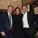 Matteo Lunelli con Chiara Maci e Alessio Vinci