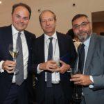 Matteo Lunelli con Virman Cusenza e Andrea Vianello