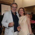Oliviero Toscani con Antonella Boralevi