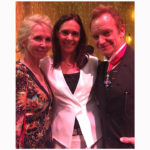 Camilla Lunelli with Sting and his wife