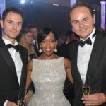 Alessandro Lunelli, Regina King e Matteo Lunelli