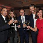 Giuseppe Sala, Chiara Bazzoli, Matteo Lunelli, Andrea e Sandra Berton