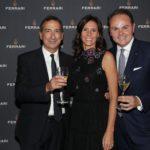 Giuseppe Sala con Camilla e Matteo Lunelli