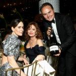 Susan Sarandon, Sarah Paulson, Matteo Lunelli