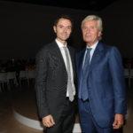 Alessandro Lunelli mit Claudio Luti
