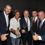 Andrea Berton, Filippo Lamantia, Matteo Lunelli, Andrea Aprea und Francesco Cerea