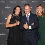 Camilla Lunelli mit Francesco Cerea und Chiara Maci