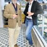 Andy Garcia at Eataly Los Angeles opening