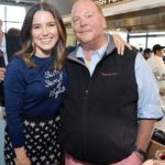 Sophia Bush and Mario Batali at Eataly Los Angeles
