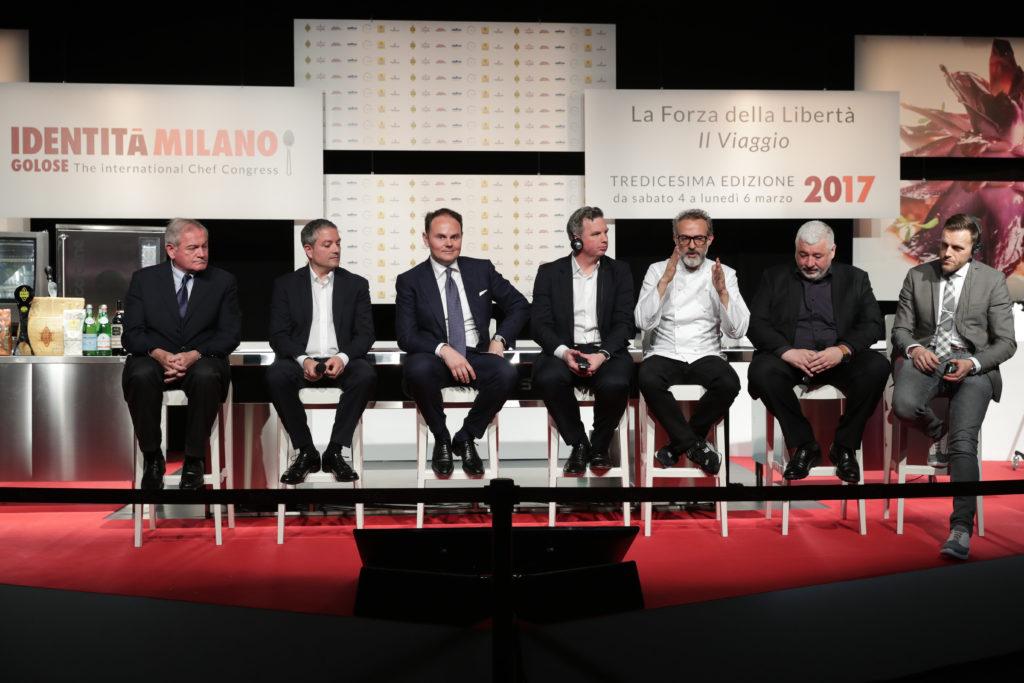 Panel dedicato all'Arte dell'Ospitalità a Identità Golose 2018
