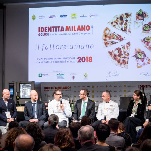 "The panel ""Hôtellerie: a five-star service"" of Identità di Sala"
