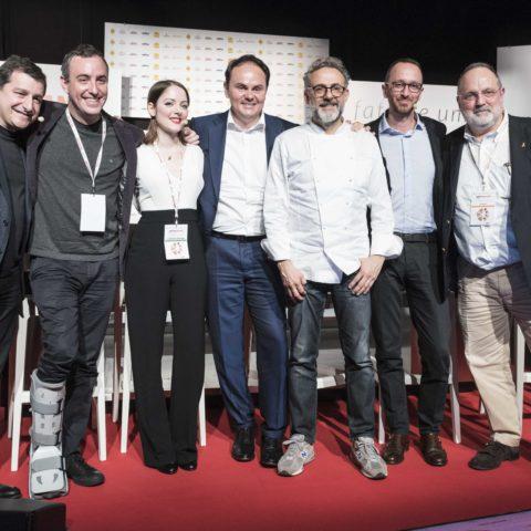 Josep Roca, Will Guidara, Laura Price, Matteo Lunelli, Massimo Bottura, Paolo Marchi, Federico De Cesare Viola