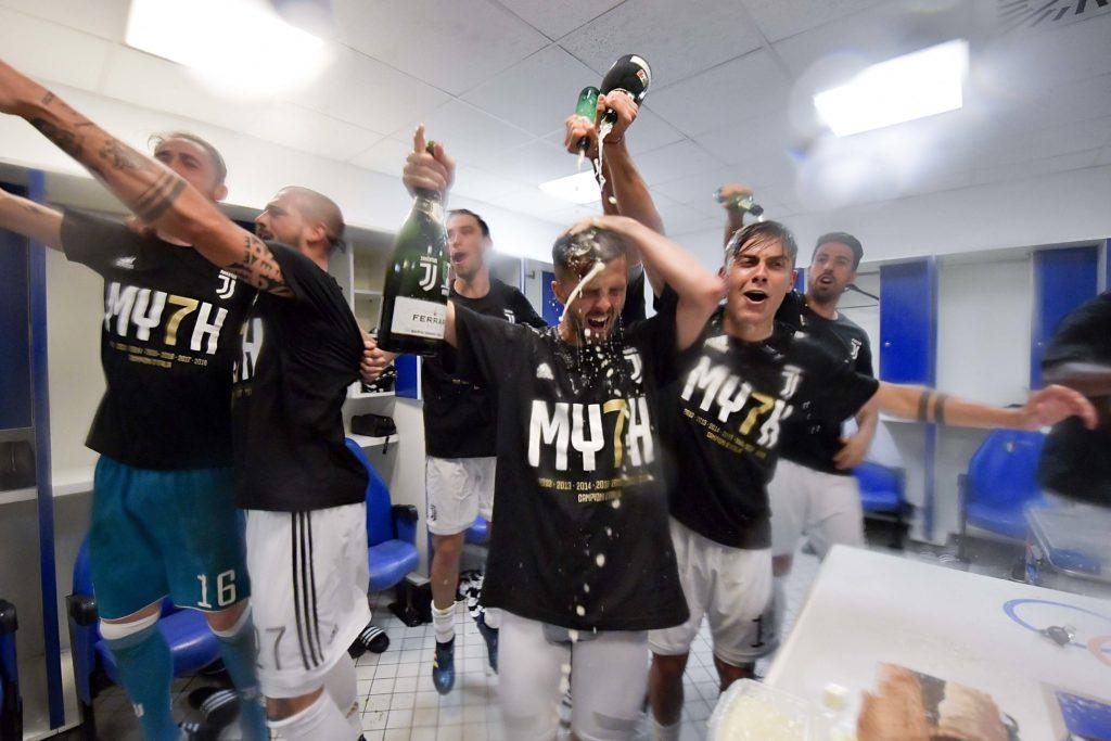 Juventus - Campione d'Italia 2017-2018